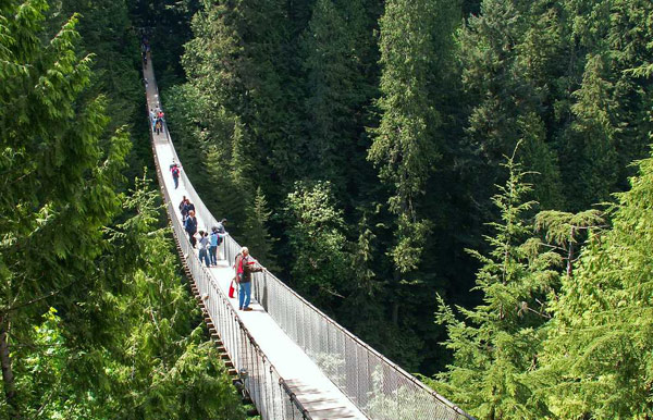 Подвесной мост Капилано (Capilano Suspension Bridge)