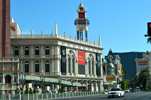 Музей Мадам Тюссо в Лас-Вегасе (Madame Tussaud's)