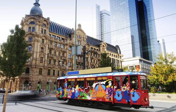 Прогулочный трамвайчик Ebbelwei-Express