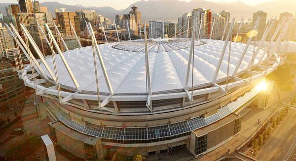 Крытый стадион «БиСи Плэйс» (BC Place Stadium)