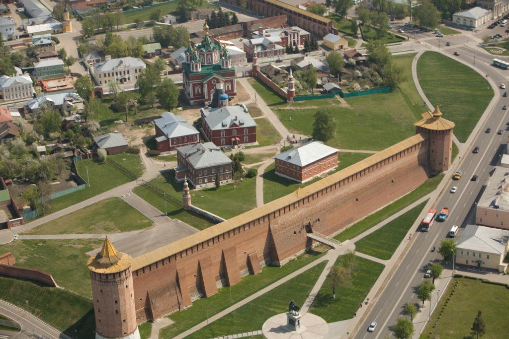 Кремль в городе Коломна